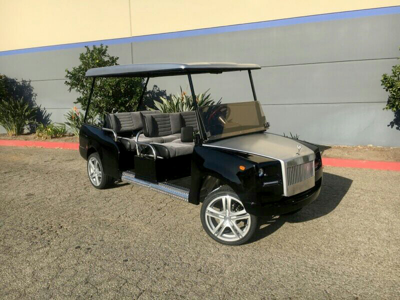 excalibur golf car limo