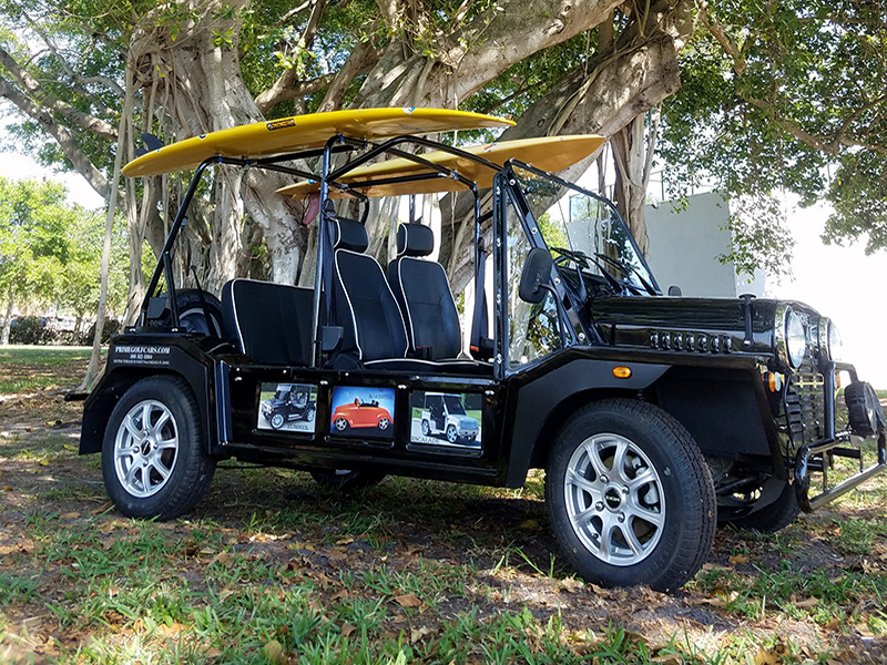 black moke golf cart, moke golf car, black moke gallery