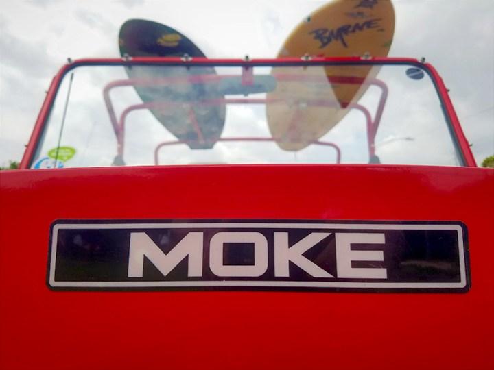 moke golf car logo