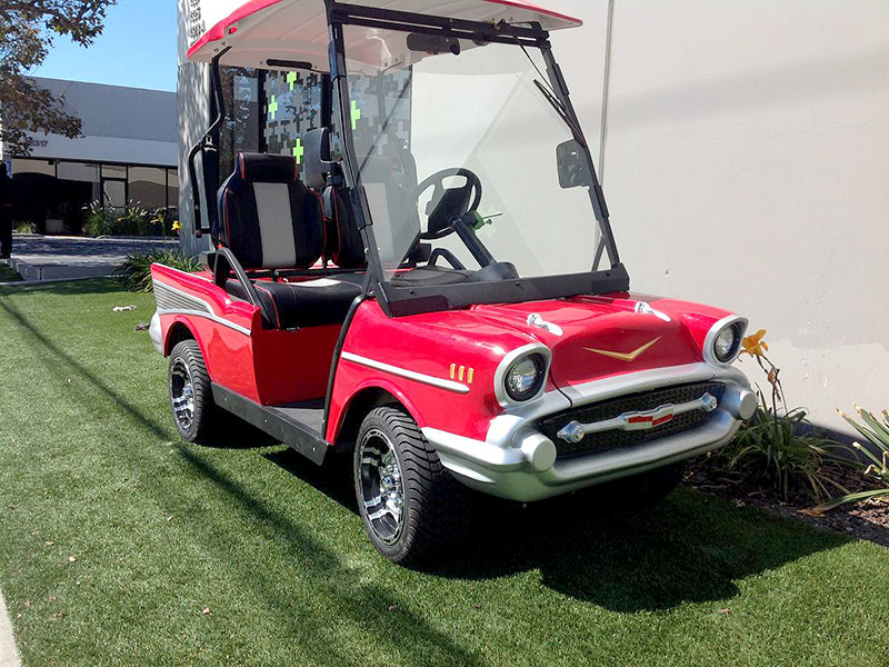 57 chevy golf car, 57 chevy golf cart