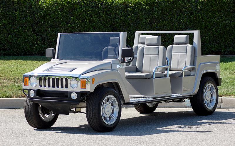 hummer limo golf car, hummer limo golf cart, golf cart, golf car