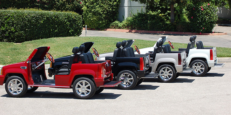 course keep how even escalade your cadillac golf pin cart the on swag
