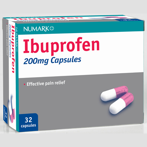 Ibuprofen 200mg Tablets Pack Of 16 - Prime Health Pharmacy