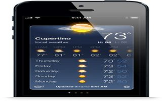 How To Use Weather App On iPhone 5