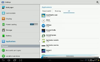 How To Use Application Manager On Samsung Galaxy Tab 2
