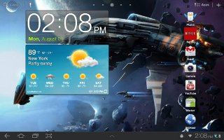 How To Use World Clock On Samsung Galaxy Tab 2
