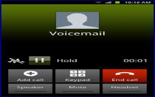 How To Use Voice Mail On Samsung Galaxy Note 2