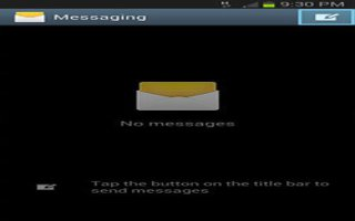 How To Use Messages On Samsung Galaxy Note 2