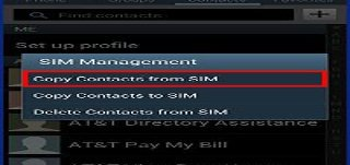 How To Copy Contacts To SIM Card On Samsung Galaxy S4