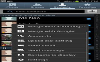 How To Sync Accounts On Samsung Galaxy S4