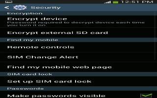 Forgot SIM PIN Password On Samsung Galaxy S4