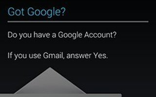 How To Create New Google Account - Samsung Galaxy Tab 3