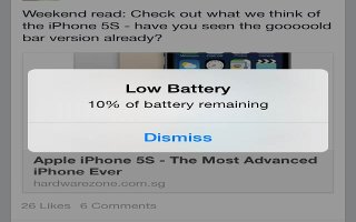 How To Improve Battery Life - iPhone 5S