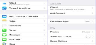 How To Seup Mail, Contact, Calendar Accounts On iPhone 6