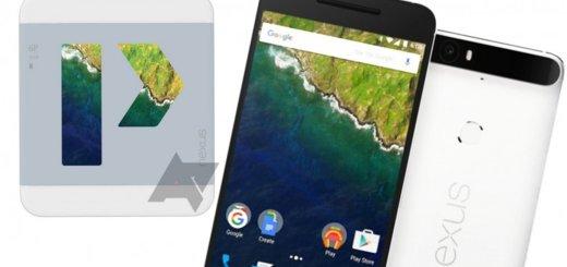 Google Huawei Nexus 6P - Press Render
