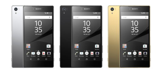 Sony Xperia Z5 Premium Colors