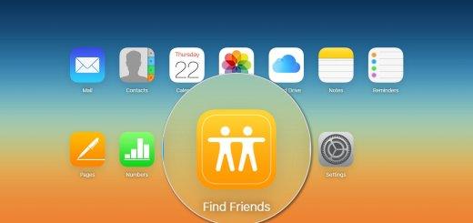 iCloud - Find My Friends