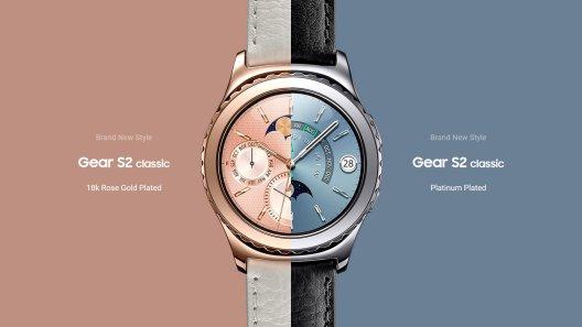 Samsung Gear S2 Classic - Rose Gold & Platinum
