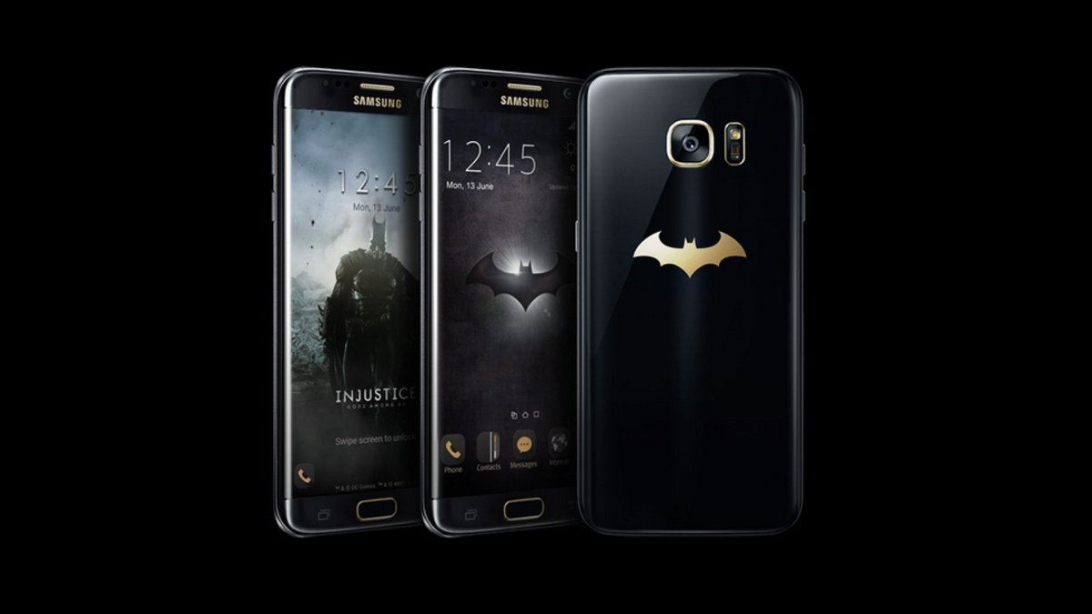 Samsung Announces Batman Injustice Edition Galaxy S7 Edge
