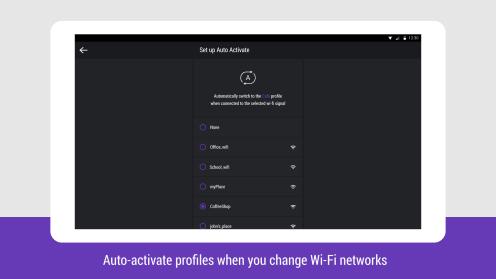 Hexlock - Auto Activate Profile (Tablet)