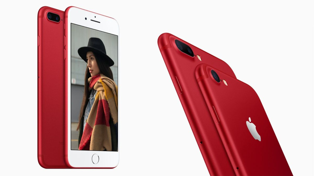 Apple Officially Launches Special Edition (Product)Red iPhone 7 And iPhone 7 Plus