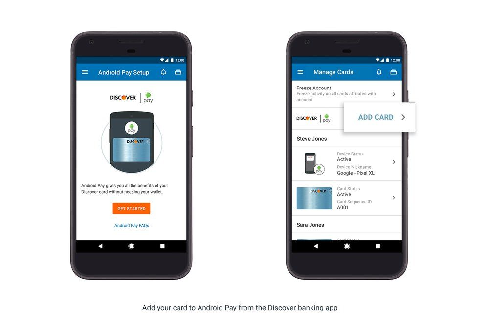 Android Pay Setup