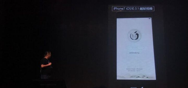 iPhone 7 - iOS 10.3.1 Jailbreak