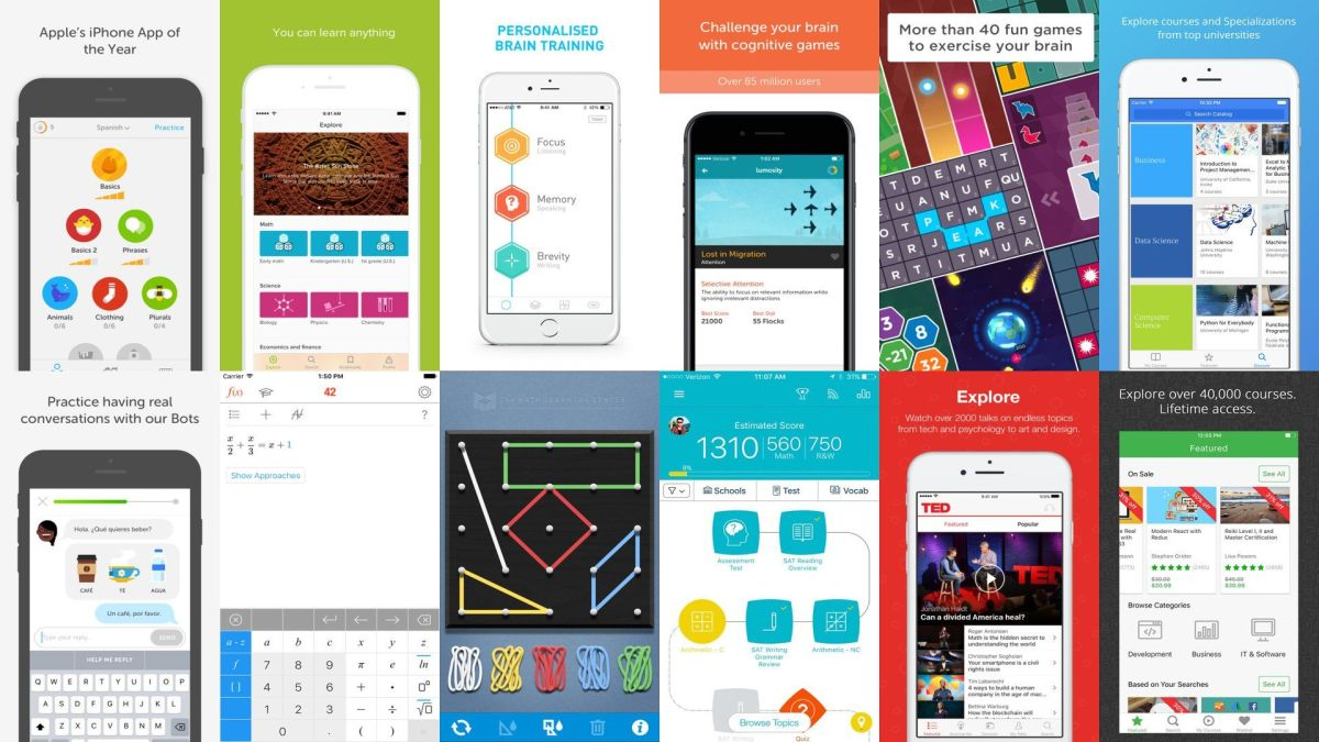 12 Best Education And Learning Apps For iOS (iPhone / iPad)