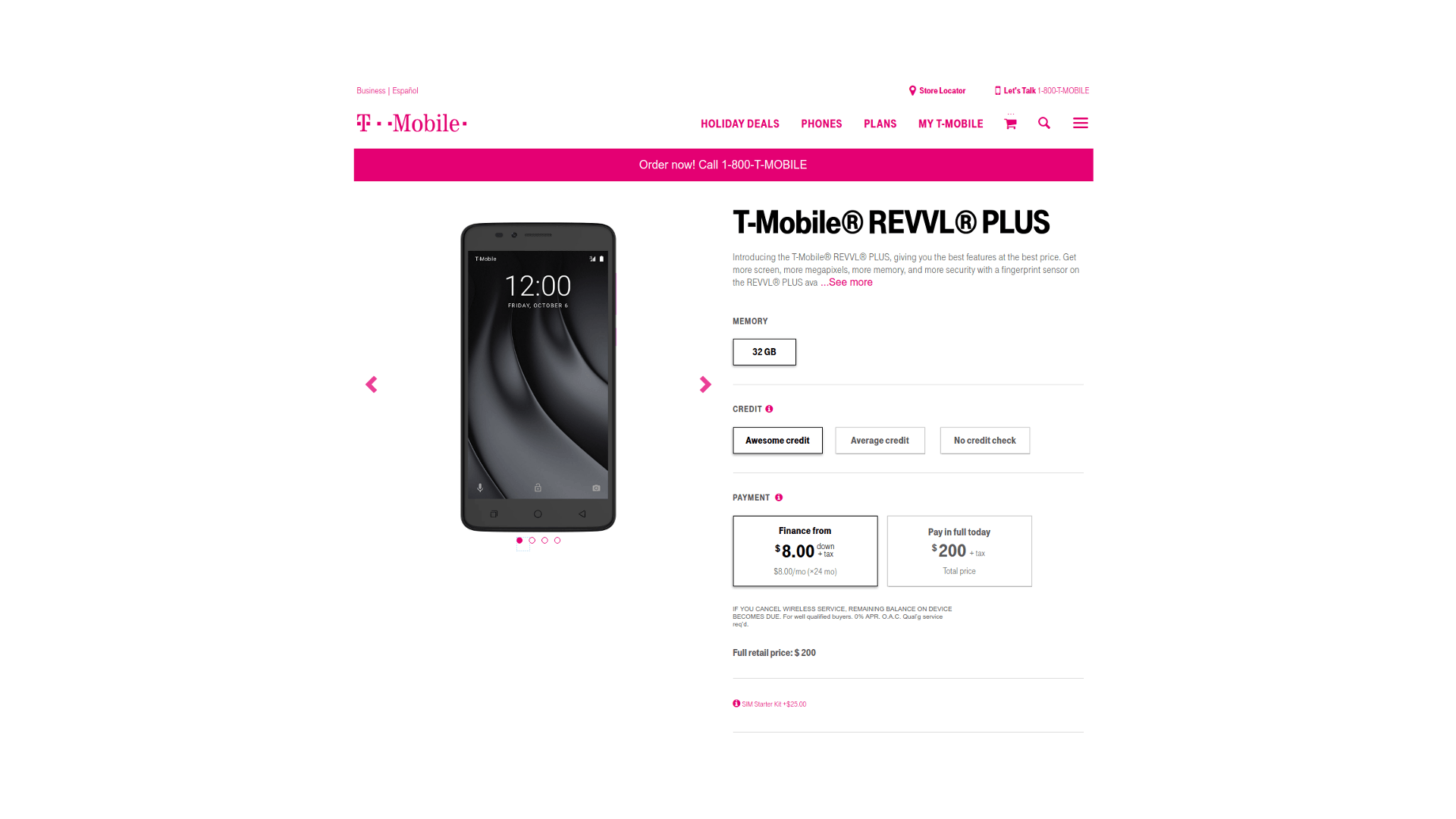 T-Mobile Launches Galaxy S8 Active, LG V30+, And Revvl