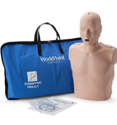 Prestan® Adult Manikin with CPR Monitor - Medium Skin