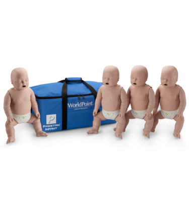 Prestan® Infant Manikin with CPR Monitor - Medium Skin - 4 Pack
