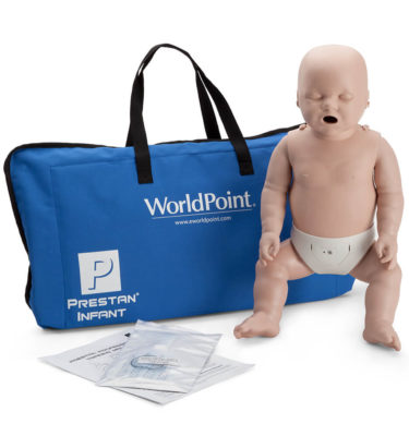 Prestan® Infant Manikin with CPR Monitor - Medium Skin