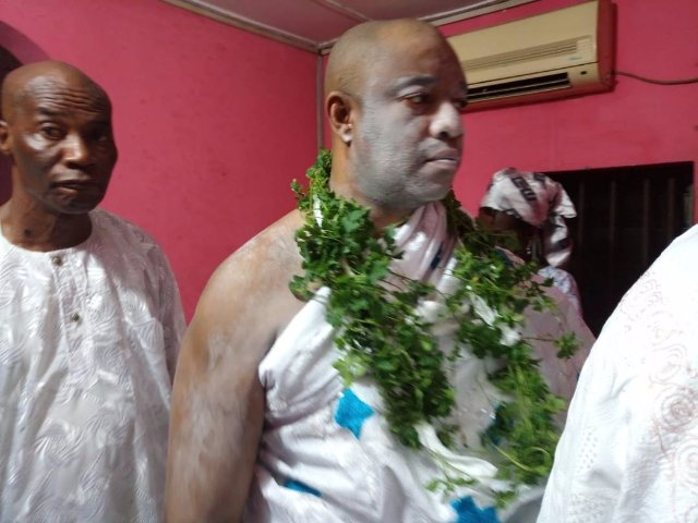 My enstoolment is not politically inclined- New Ga Mantse