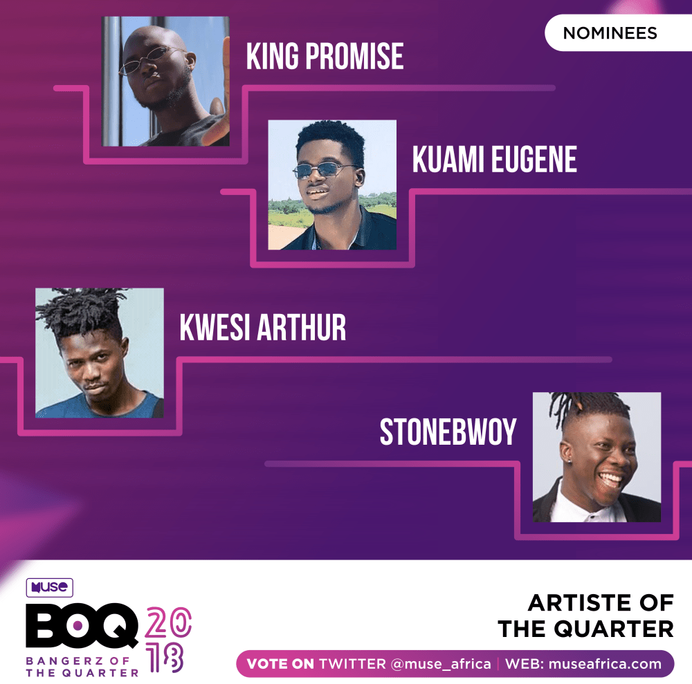 medium resolution of kuami eugene king promise medikal wendy shay lead nominations at museafrica s bangerz