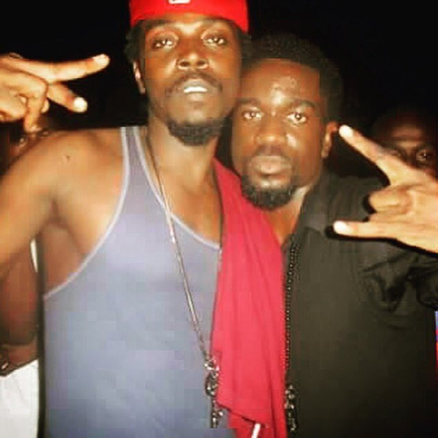 throwback photo of Sarkodie and Kwaw Kese