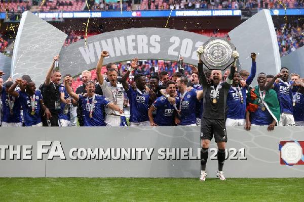 Daniel Amartey stars as Leicester pip Man City to clinch Community Shield -  Prime News Ghana