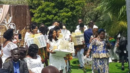 Lovely photos from Becca's traditional wedding