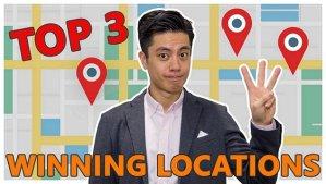 Top 3 Winning Locations