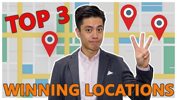 Top 3 Winning Locations