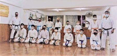 Se dictó una clase especial de karate en Oberá
