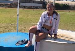 Abril Caso sumó medalla de plata en Rosario