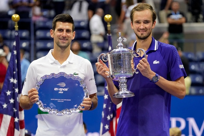 NOvak Djokovic perdió ante Daniil Medvedev en la final del US Open.
