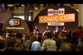 heroes comic con valencia
