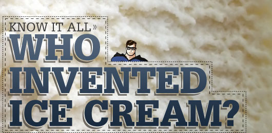 Who Invented Ice Cream?