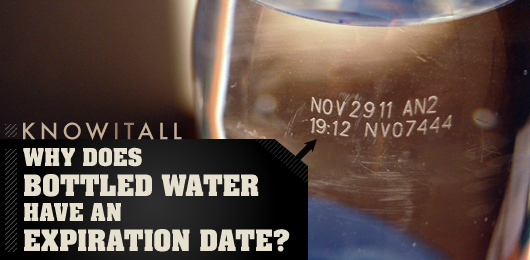 Know It All Why Does Bottled Water Have an Expiration