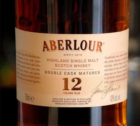 The Recommendation Aberlour 12 Year Old Scotch  Primer