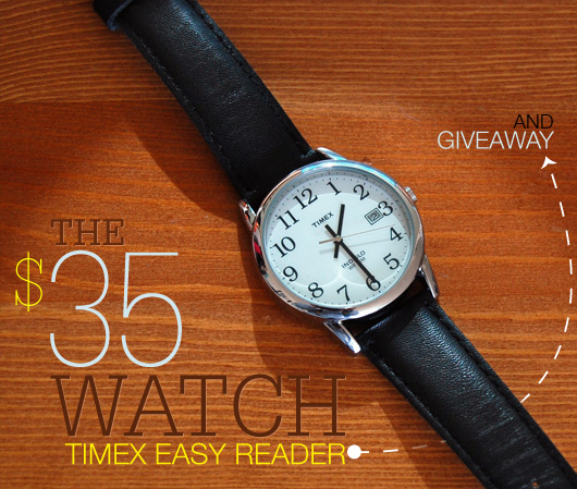 The 35 Watch Timex Easy Reader  Primer