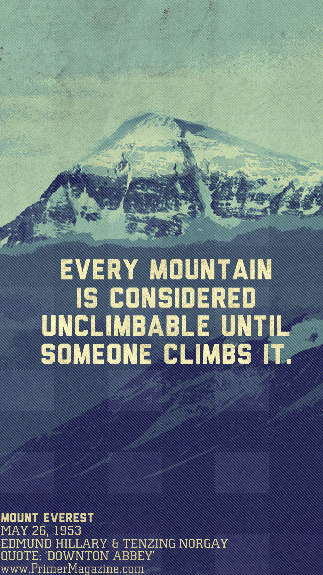 Awesome Animal Wallpapers Monday Motivation The Unclimbable Mountain Wallpaper