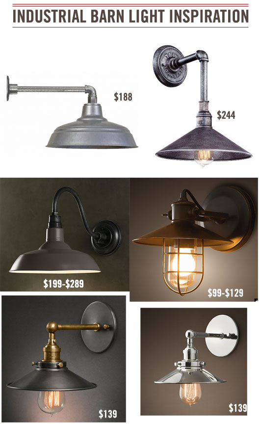 Barn Light Fixtures