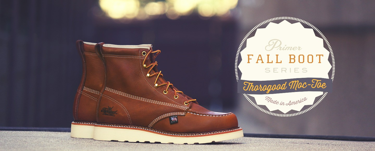 Thorogood 6 inch moc toe boot review